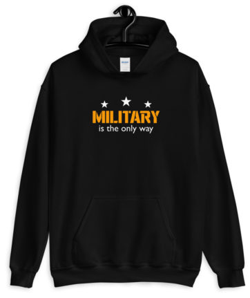 Military is the only way
